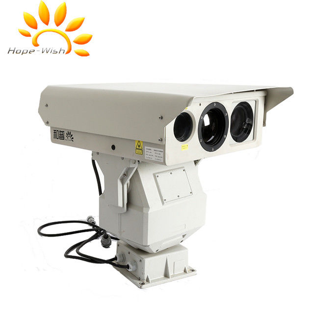 Multi Sensor PTZ Thermal Surveillance System CMOS With auto tracking