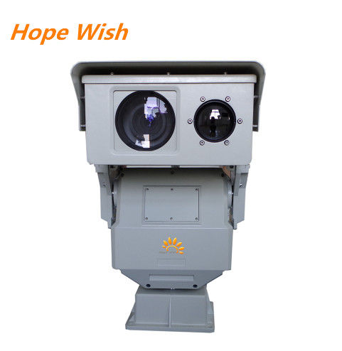 6KM Outdoor Fire Detect IR Long Range Security Camera , Long Distance Security Cameras